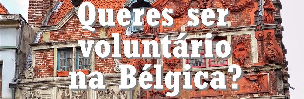 Queres ser voluntário na Bélgica?