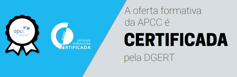 Oferta formativa da APCC com certificação da DGERT