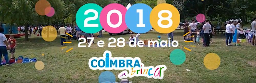 Coimbra a Brincar é nos dias 27 e 28 de maio!