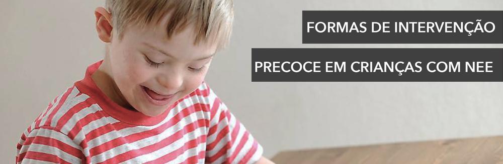 Formação gratuita em intervenção precoce em crianças com Necessidades Educativas Especiais
