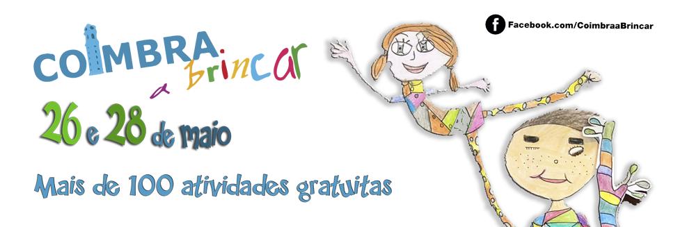 Coimbra a Brincar 2019 - programa e inscrições