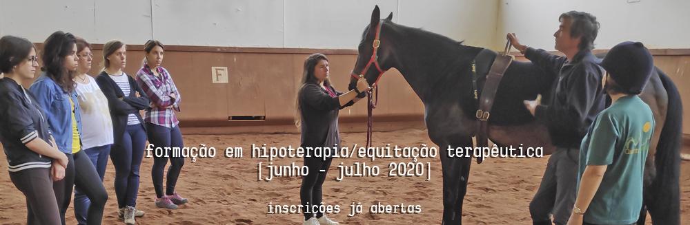 Formação em hipoterapia/equitação terapêutica